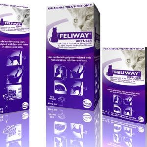 Feliway Pheromones for Anxious Cats